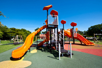 Troy, Indiana park playground